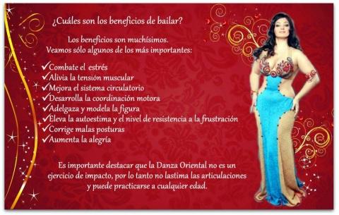 _beneficios de danza oriental